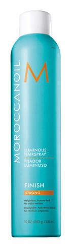 Moroccanoil Luminous hair spray strong - Сияющий лак для волос сильной фиксации