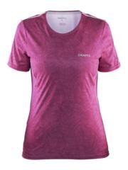 Женская футболка для бега Craft Mind Run 1903942-2044 малиновая