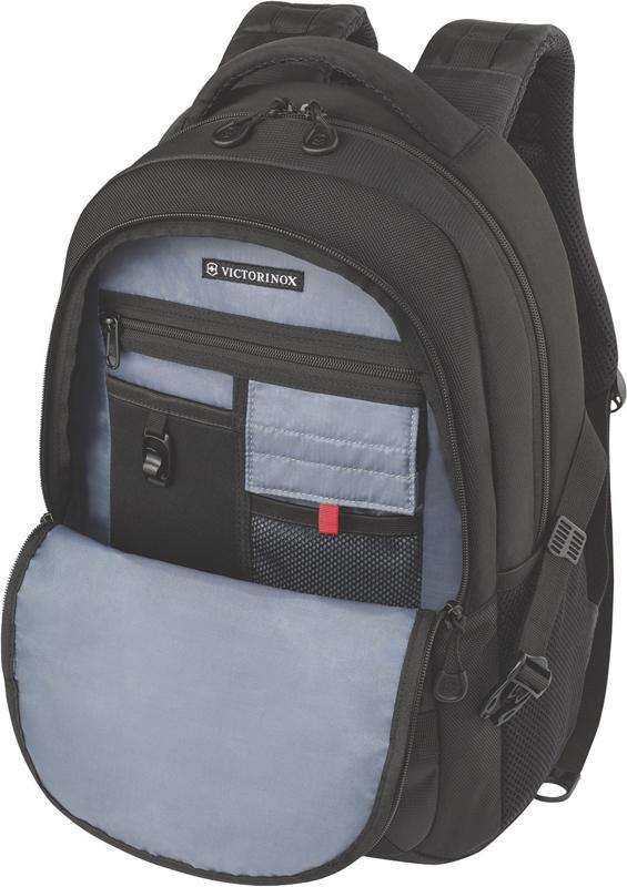 Рюкзак Victorinox VX Sport Cadet 16'', чёрный, полиэстер 900D, 33x18x46 , 20 л
