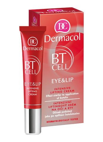 Dermacol BT CELL Интенсивный крем-лифтинг для век и губ (30+)