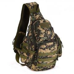 Тактический однолямочный рюкзак Mr. Martin 5053 DIGITAL WOODLAND