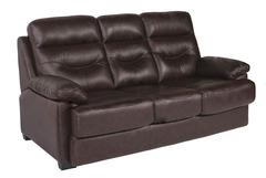 Диван кровать 3-х местный (MK-4703-BRL) Тёмно-коричневый