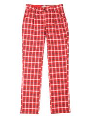 GPT004057 Брюки для девочек, красные/разноцветные