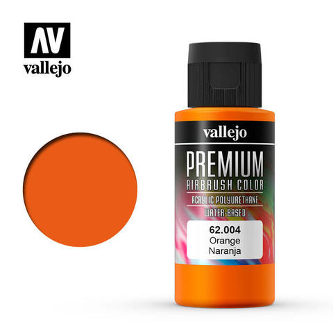 Premium Airbrush Orange 60 ml.
