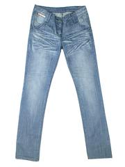 5614 джинсы женские, голубые