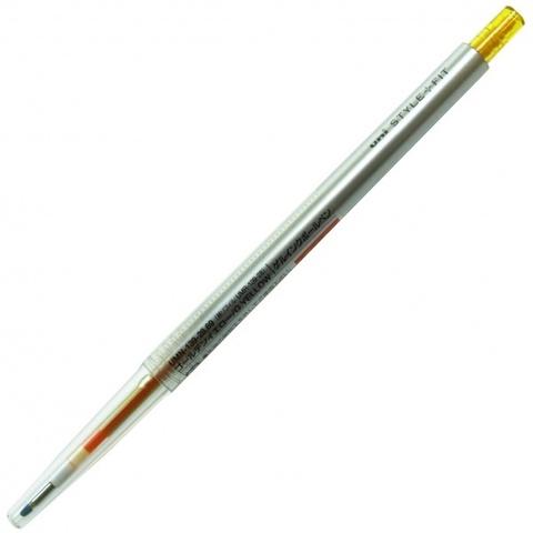 Гелевая ручка 0,28 мм Uni Style Fit - Golden Yellow - оранжево-жёлтые чернила