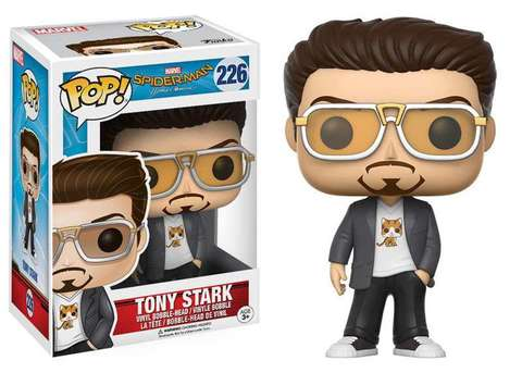Фигурка Funko POP! Bobble: Marvel: Spider-Man Homecoming: Tony Stark 14353