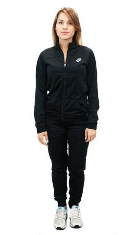 ASICS TRACKSUIT POLYWARP женский спортивный костюм черный