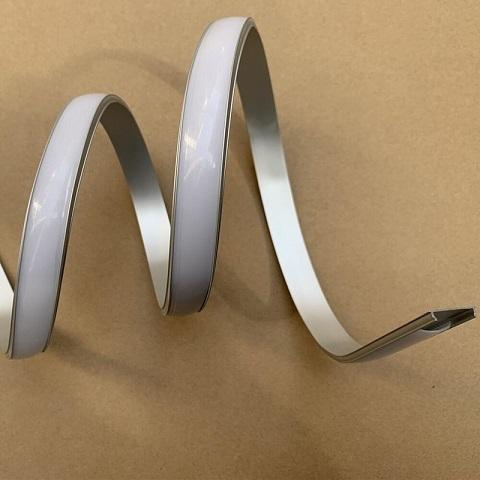 Профиль гибкий 1704 алюминиевый. Комплект с рассеивателем