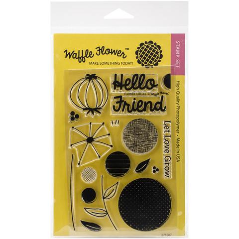 Набор штампов Flower Circles