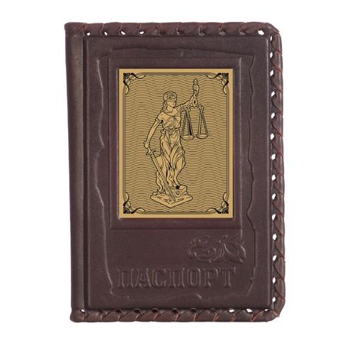 Обложка для паспорта «Фемида»