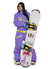 Комбинезон с флисовым утеплителем Cool Zone (Кул Зон) для женщин и девушек фиолетовый фото