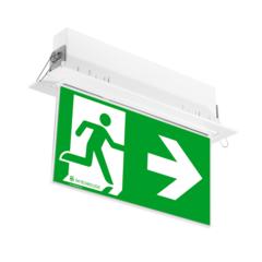 Световой указатель ONTEC G с рамкой для встраиваемого монтажа – общий вид