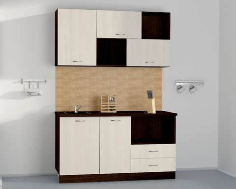 Кухня модульная ЭДИНА