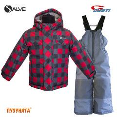 Комплект для мальчика зима Salve SWB 4861 True Red