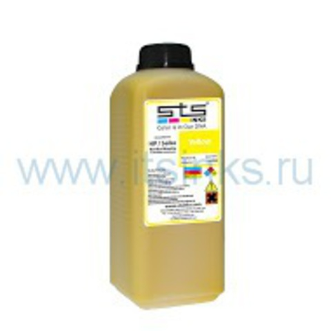 Чернила STS Low Solvent Yellow 1000 мл