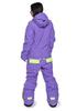 Женский утепленный сноубордический комбинезон Cool Zone Fox 3430 фиолетовый ФОТО