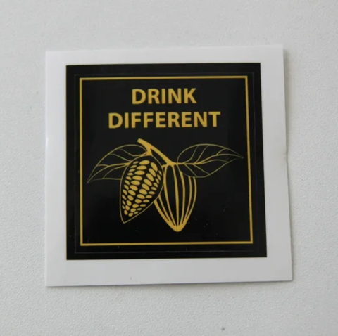 Наклейки drink different