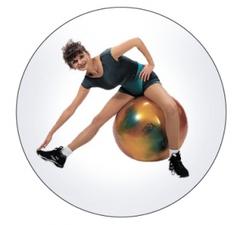 """Мяч """"Gimnic ARTE"""" (fantasy) для занятий лечебной физкультурой с антиразрывной системой"""