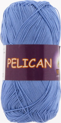 Пряжа Pelican (Vita cotton) 3975 Лазурь (1 моток)