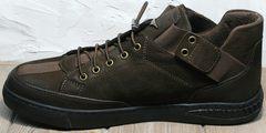 Городские кроссовки туфли мужские Luciano Bellini 71748 Brown