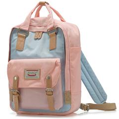 Рюкзак Nikki Macaroon Розовый + Голубой