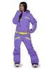 Женский утепленный сноубордический комбинезон Cool Zone Fox 3430 фиолетовый