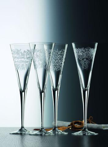 Набор бокалов для шампанского 4шт 165мл Nachtmann Delight