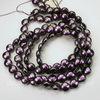 5860 Хрустальный жемчуг Сваровски Crystal Iridescent Purple круглый плоский 10 мм