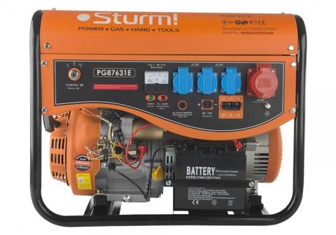 Бензогенератор Sturm PG87631E  6кВт+эл.стартер
