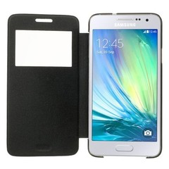Чехол Samsung Galaxy A3 S-View Cover