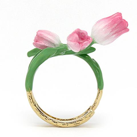 Кольцо Тюльпан