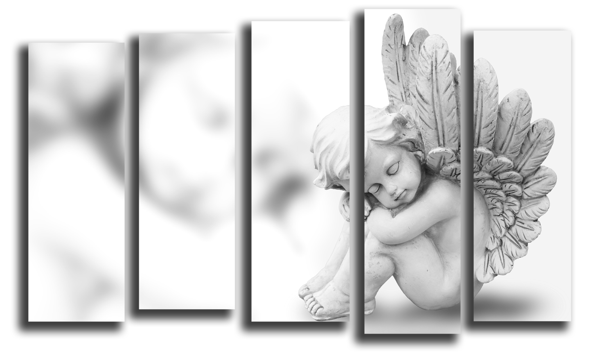 """Модульные картины Модульная картина """"Ангелок"""" М1181.png"""