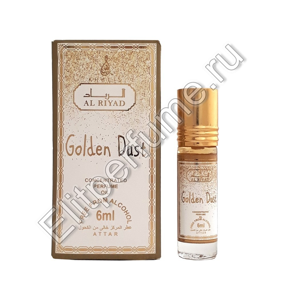Golden Dust 6 мл арабские масляные духи от Халис Khalis Perfumes