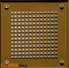 Решетка 150*150 золото, б.клетка