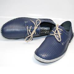 Мужские туфли дерби летние Komcero 9Y8944-106
