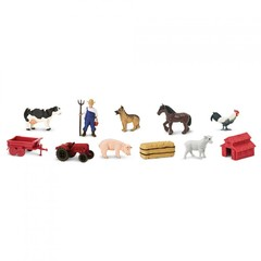 Набор фигурок На ферме, Safari Ltd.
