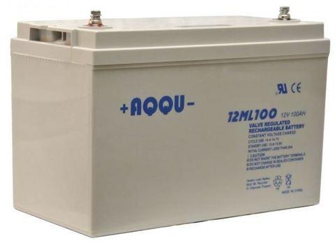 Аккумуляторы AQQU AQQU 12ML100 - фото 1