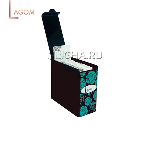Лэшбокс LAGOM на 10 палеток (черный)