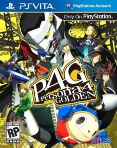 Sony PS Vita Persona 4: The Golden (английская версия)