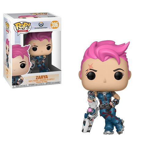 Funko POP! Vinyl: Games: Overwatch: Zarya || Заря