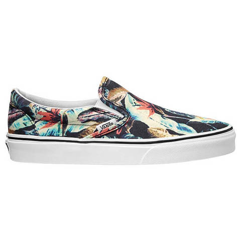 Кеды женские VANS Classic Slip-On (Tropical) Multi/Black