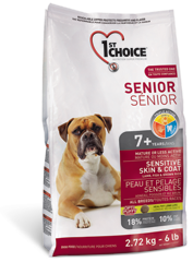 1st CHOICE Senior Sensitive Skin & Coat