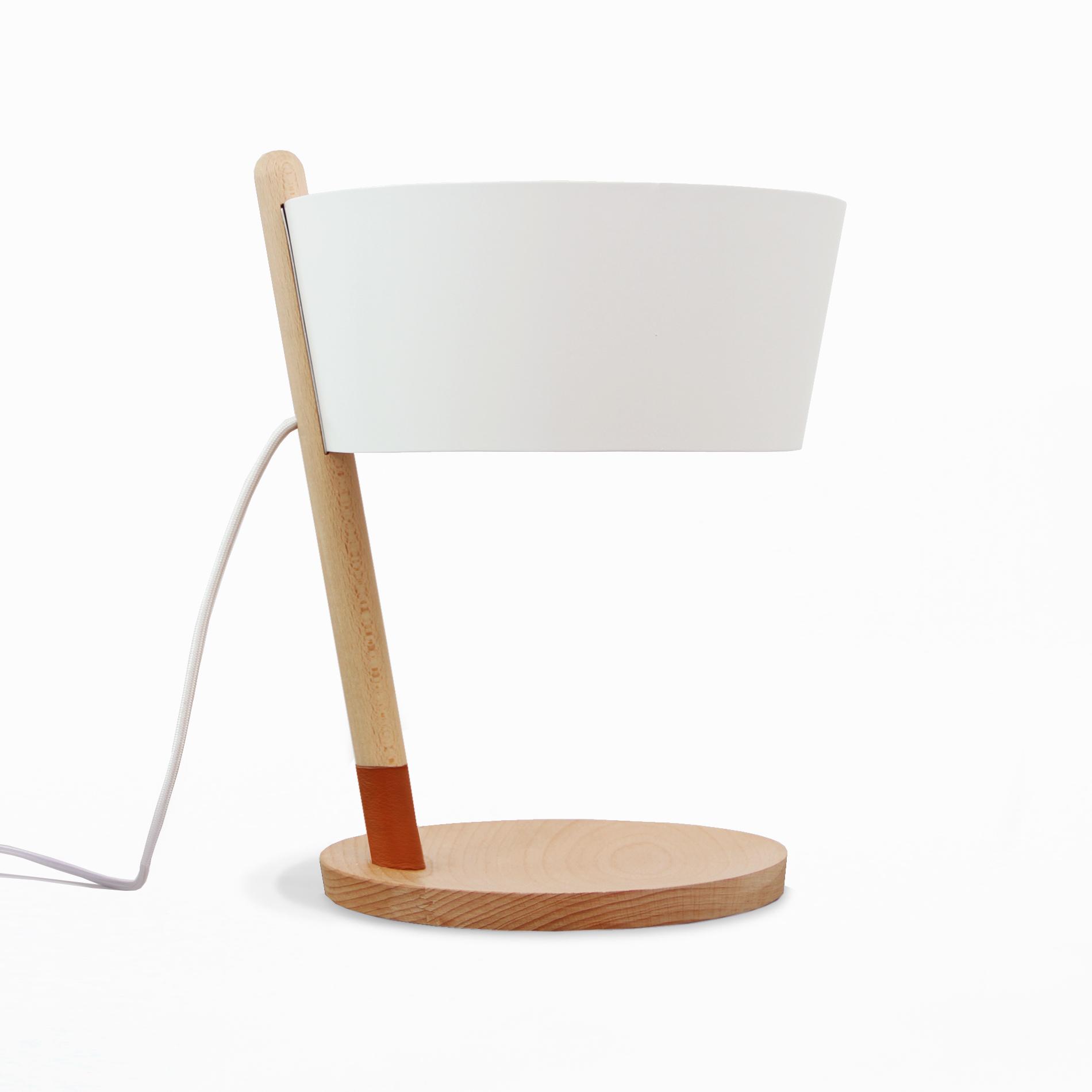 Настольная лампа Woodendot KA S White