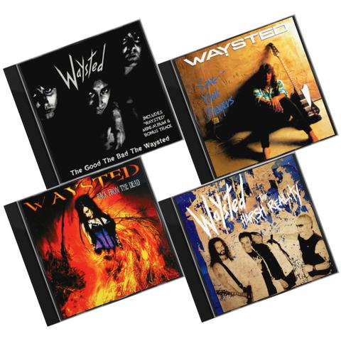 Комплект / Waysted (4CD)