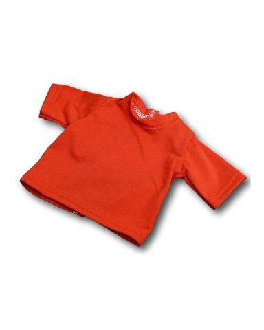 Футболка - Красный. Одежда для кукол, пупсов и мягких игрушек.