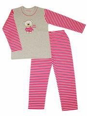 Пижама Taro 038 серая с розовым