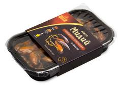 Мясо мидий х/к в масле, 120г