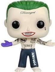 Funko POP Movies: Suicide Squad Action Figure, The Joker Shirtless