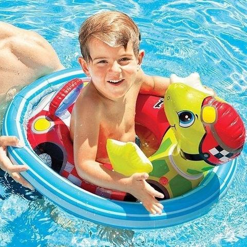 Детский надувной круг Черепаха 76*58см.